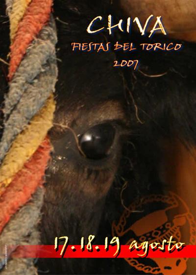 Portada libro de Fiestas del Torico 2007