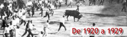 De 1920 a 1929