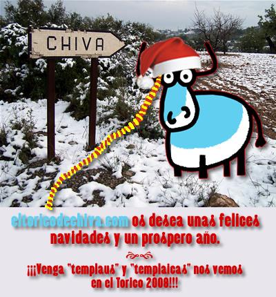 eltoricodechiva.com os desea una feliz Navidad y un prospero año nuevo