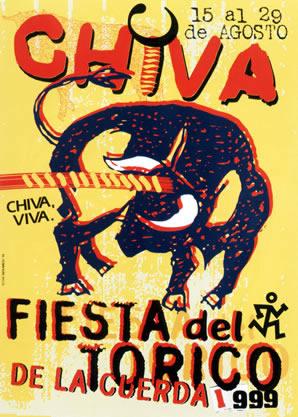 Cartel Ganador Fiestas del Torico 1999 - (Rafael Armero Torres)
