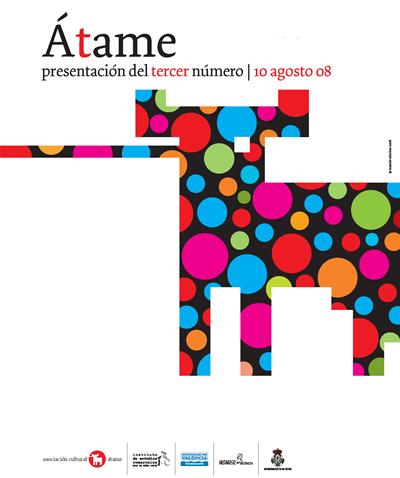 Presentación del tercer número de la revista Átame