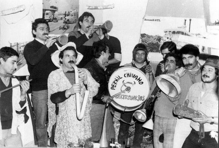 """""""Los Beltranejos"""" tocando en el Monte"""