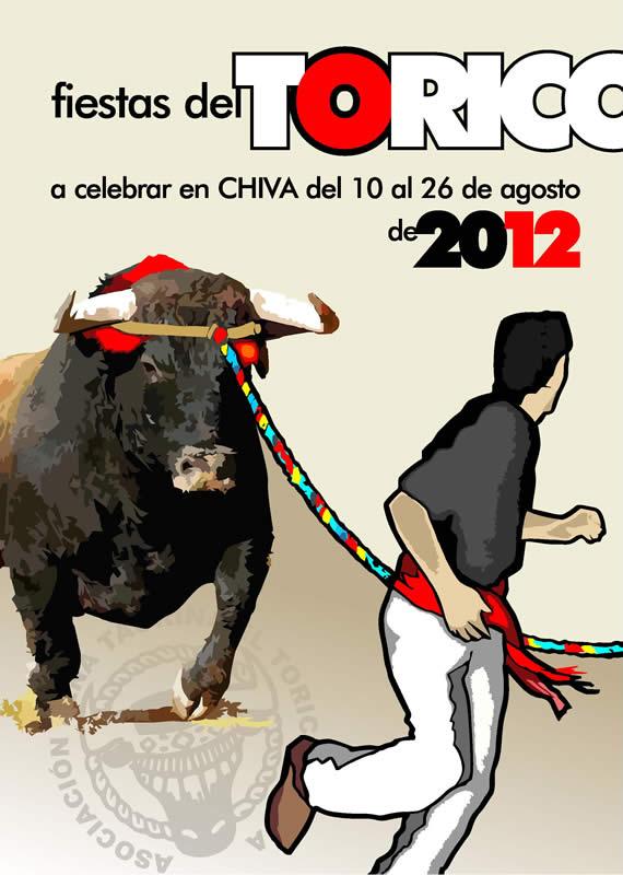 Programa de fiestas del Torico de la cuerda de Chiva 2012